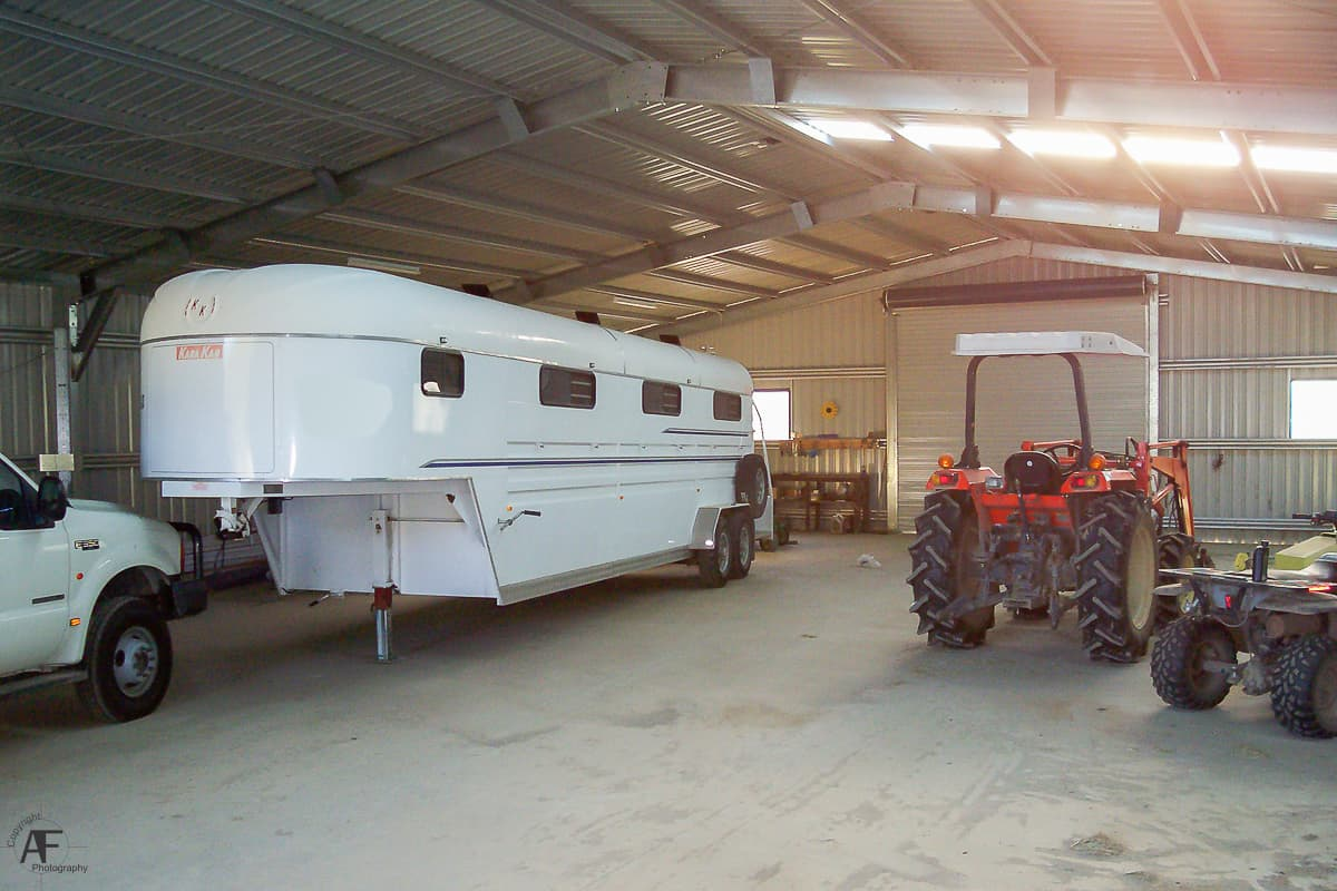 Machinery Shed for Equine Park